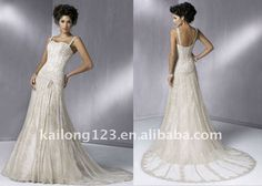 Lace Wedding dress from Reliable spanish lace wedding dresses ...