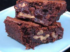 Véritables Brownies aux noix