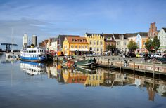 Husum. Germany Nordsee