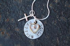 Faith of a mustard seed necklace. What a great reminder!