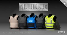 PPSS Bullet Resistant Vests - NIJ Std 0101.06 Level IIIA. Also provides protection from full contact shots and TASER
