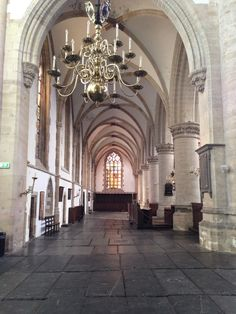 Interior of the Bavo, church of Haarlem Haarlem Netherlands, Dutch Golden Age, Delft, Homeland, Childhood Memories, Places Ive Been, Clogs, Cathedral, Religion