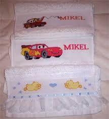 Resultado de imagen para toallas en punto de cruz