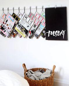 DIY | Tijdschriftenrek #zelfmaken #diy #zelfmakenmetflair