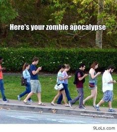 zombie apocalypse Funny Cute, Funny Memes, Hilarious, Funny Stuff, Lmfao Funny, Scary Stuff, Crazy Funny, Apocalypse, Funny Moments
