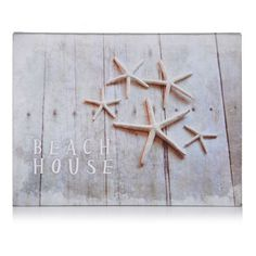 Bild, Beach House, The Beach House, Shabby Chic Vorderansicht
