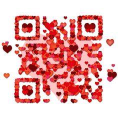 Valentine's day QR Code #qrcode #qrcodes #codigosQR #codigoQR