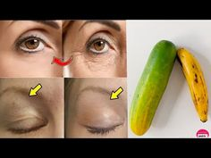 Banana Face Pack with Cucumber to Remove Wrinkles, Anti Aging Remedy & Get Younger Looking Skin - YouTube