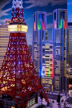 Lego City Tokyo LEGOLAND Discovery Center Tokyo, Daiba Tokyo via flickr