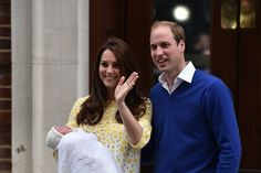 The Duke and Duchess of Cambridge introduced their newborn daughter to the world Saturday. | Here Are The First Pictures Of The New Royal Baby - BuzzFeed News