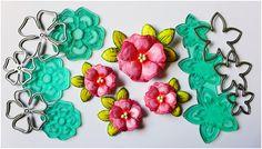 Blog Craft Passion: Kurs - kwiaty stemplowo- wykrojnikowe / Tutorial - stamped and die-cut flowers