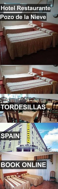 Hotel Restaurante Pozo de la Nieve in Tordesillas, Spain. For more information, photos, reviews and best prices please follow the link. #Spain #Tordesillas #travel #vacation #hotel