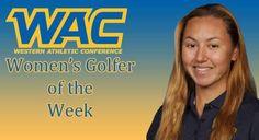 Brumbaugh Named WAC Womens Golfer Of The Week #SJSU #SpartanSports