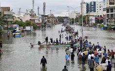 PM Narendra Modi to Survey Flooded Chennai, Thousands Still Stranded - 24 India News
