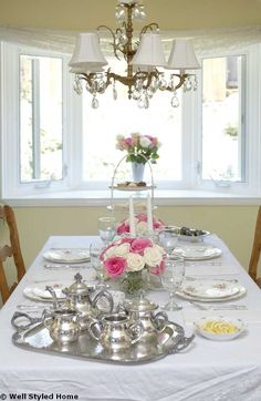 Afternoon Tea Table Setting Ideas Wmtetr  sc 1 st  Pinterest & Afternoon tea. Table settings and styling for the Midland Hotel ...