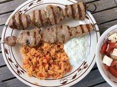 Souvlaki - Spieße gegrillt, ein leckeres Rezept aus der Kategorie Gemüse. Bewertungen: 83. Durchschnitt: Ø 4,2.