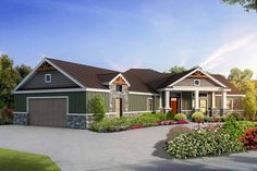 Split Bedroom Craftsman House Plan with Game Room - 430024LY | Architectural Designs - House Plans