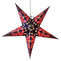 Dara Blue star Lamps http://www.29june.com/index.php/paper-stars.html