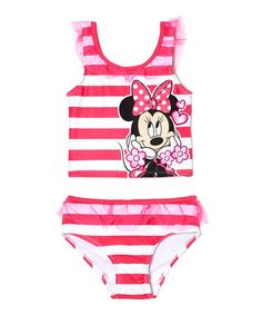Look what I found on #zulily! Minnie Mouse Skirted One-Piece - Infant by Dreamwave Apparel #zulilyfinds