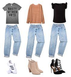 Designer Clothes, Shoes & Bags for Women Steve Madden, Michael Kors, Adidas, Shoe Bag, Polyvore, Shopping, Collection, Design, Women