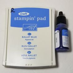 Stampin' Up! Blue Pigment, Pigment Ink, Blue Crafts, Martha Stewart Crafts, My Ebay, Stampin Up, Card Making, Ballet, How To Make