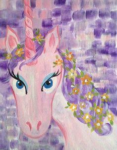 """""""Lulu the Unicorn"""" at www.GalleryOnTheGo.com #GOTG"""