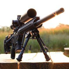 Ruger Precision Rifle. Vortex optics HST 4-16x44 scope. American defense mfg ad recon mount. Samson mfg pro handguard.