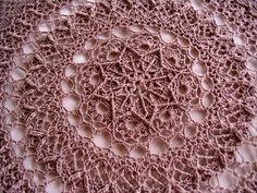 crochet ~ Patricia Kristoffersen doily called Impressive
