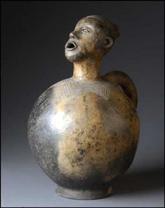 "Luba H 18"" x W 11"" - The Inescapable, Indivisible Essence of Pottery - by Warren Frederick"