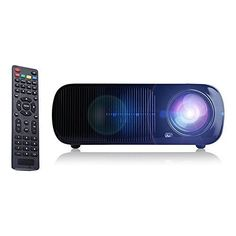 Read review iRULU Portable Multimedia 2600 Lumens Mini LED Projector with VGA USB SD AV HDMI for Home Cinema Theater, Child Games or Business Presentations and Meetings Black - Newest Printers ,Scanners, Projector, Portable Audio & Video, Mouse,keyboard,Speacker,Headphone