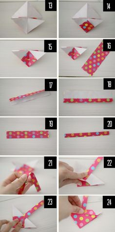 DIY Origami Basket | We Heart Home
