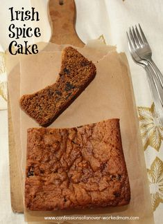Irish Spice Cake from @Ellen Christian