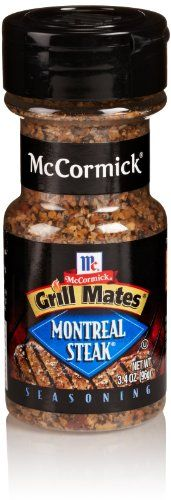 McCormick Grill Mates Montreal Steak Seasoning, 3.4 Oz - http://spicegrinder.biz/mccormick-grill-mates-montreal-steak-seasoning-3-4-oz/