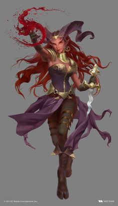 Tagged with art, drawings, fantasy, dungeons and dragons; DnD female wizards and warlocks - inspirational Dungeons And Dragons Characters, Dnd Characters, Fantasy Characters, Female Character Design, Character Design Inspiration, Character Art, Character Ideas, Tiefling Female, Dnd Tiefling