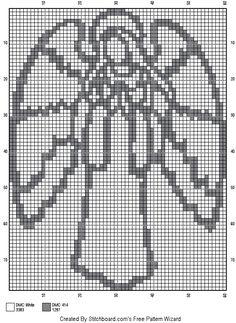 Hexagon Quilt Pattern, Quilt Patterns, Stitch Patterns, Crochet Patterns, Cross Stitch Angels, Cross Stitch Charts, Christmas Cross, Diy Christmas Gifts, Fillet Crochet