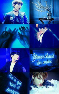 JungKook Blue BTS wallpapers for iPhone Jungkook V, Bts Bangtan Boy, Taehyung, Jungkook Aesthetic, Blue Aesthetic, Aesthetic Collage, Bts Lockscreen, Bts Video, Bts Photo