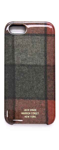 Jack Spade Flannel iPhone 5 Case
