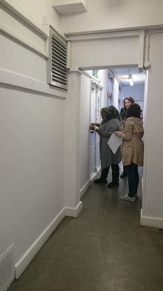 Hallway Site Visit, Selfie, Mirror, Mirrors, Selfies
