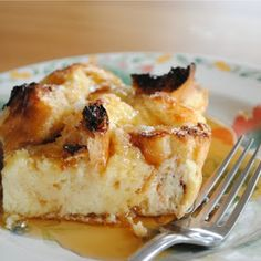 Creme Brulee French Toast Casserole - Needs to set for at least one hour til overnight!! Sub gf bread and almond milk (goat's milk)