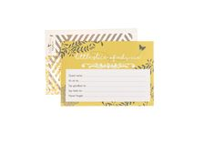 Enjoy some baby shower fun with these You Are My Sunshine themed baby advice cards by Little Dot Baby Shower.