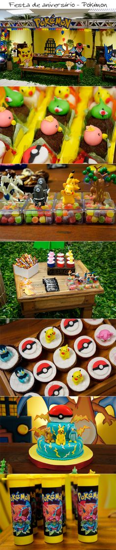 pokemon themed party! cute!