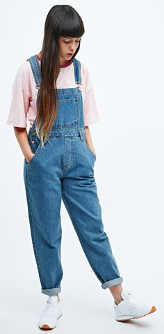 New In: Dungarees #urbanoutfitters #uoeurope #womenswear #dungarees Cut them into shorts and you got yourself a deal