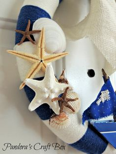Summer-nautical-wreath-seashells.jpg (768×1024)