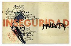 Revista Bunker by Marian Dominguez, via Behance