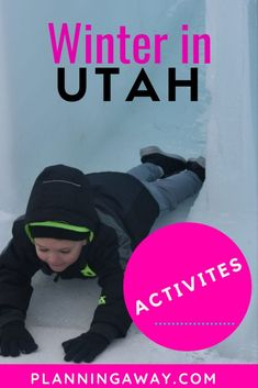 Are you looking for things to do in Utah in Winter? Perfect! Get ready to plan some winter activities in Utah? If you think skiing when you think of Utah, that is a great thought to have! Utah offers world class skiing. But it also offers a wide variety of other, amazing activities in Salt Lake City and surrounding areas. Let's explore some of the fun things to do in winter in Utah!