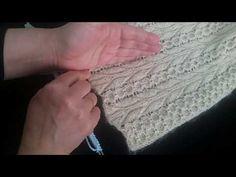 ZEYTİN DALI YELEK MODELİ 1. BÖLÜM - YouTube Baby Knitting Patterns, Pulls, Fingerless Gloves, Arm Warmers, Stitch, Crochet, Polyvore, Youtube, Create