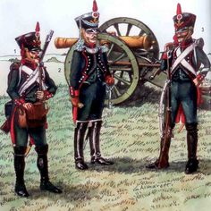 Artillery of the Royal Italian Guard 1805-14