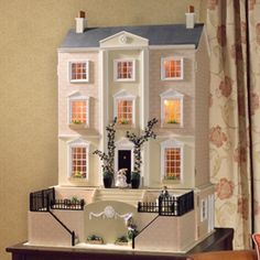 """""""Elegant, well-proportioned and decorated in soft 'sandstone', Wentworth Court is a house of style and substance."""""""