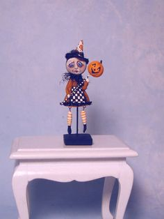 Puppenstuben & -häuser Artisan Dolls House Polymer Clay magic pumpkin garden Ooak Figure 1:12th