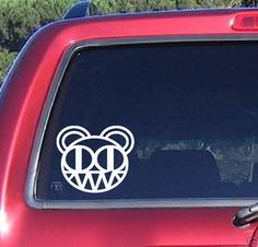 RADIO HEAD Music Group decal sticker car truck windows